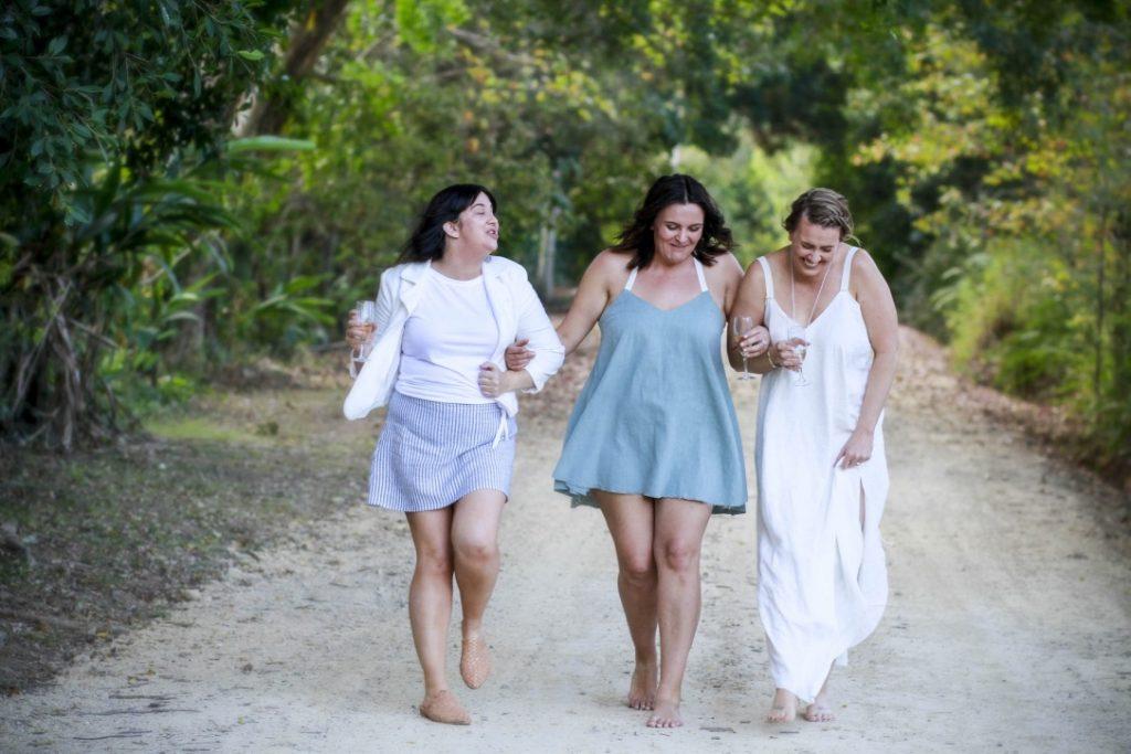 Empowering Women, Slow fashion australia, linen dress byron bay